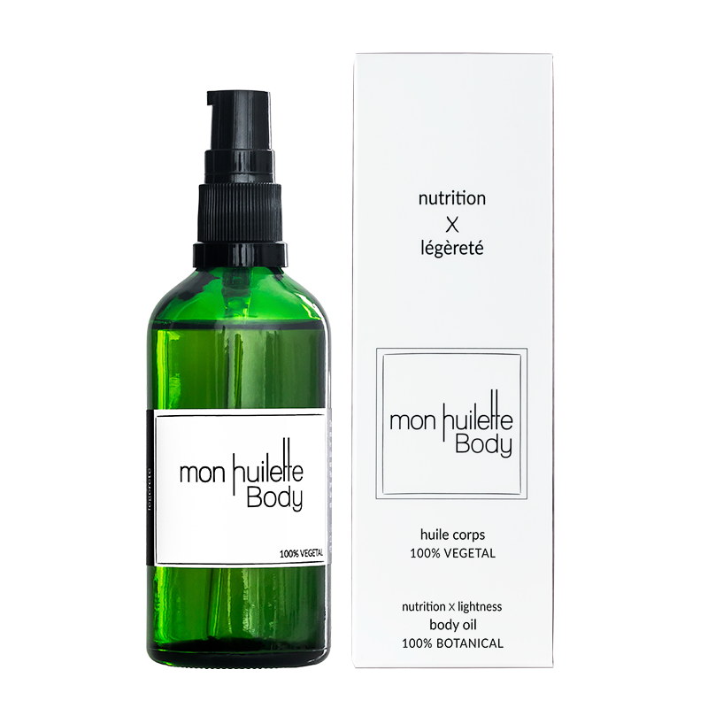 Natural Body Oil - Organic & Vegan - Ma French Beauty