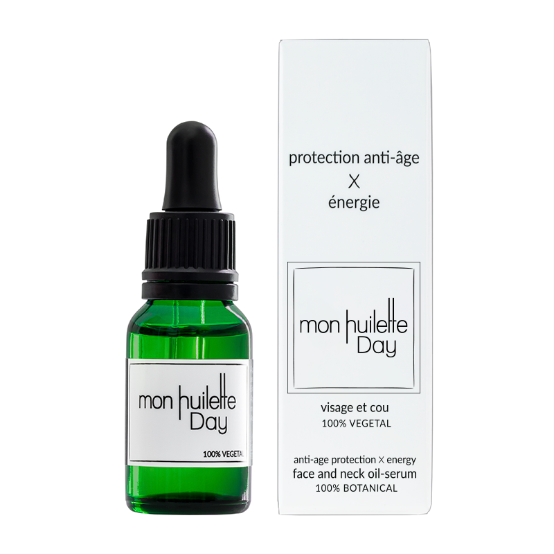Mon Huilette - Anti Aging Day Serum - Protection & loss of elasticity - Organic, Vegan & Natural