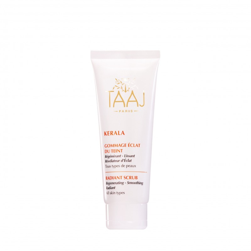 TAAJ - Ayurveda Radiant Face Scrub - Enzymatic & Mechanical Exfoliation