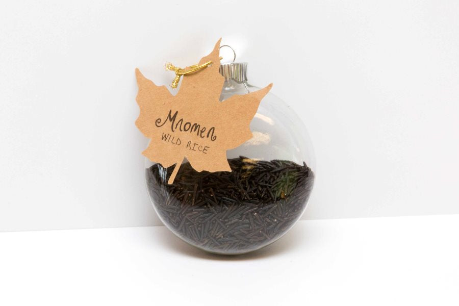 Keepsake Ornament with Wild Rice