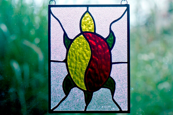 Stained Glass Turtle