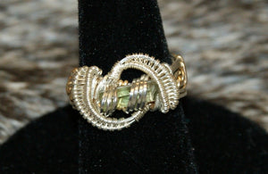 Green Tourmaline Pinky Ring