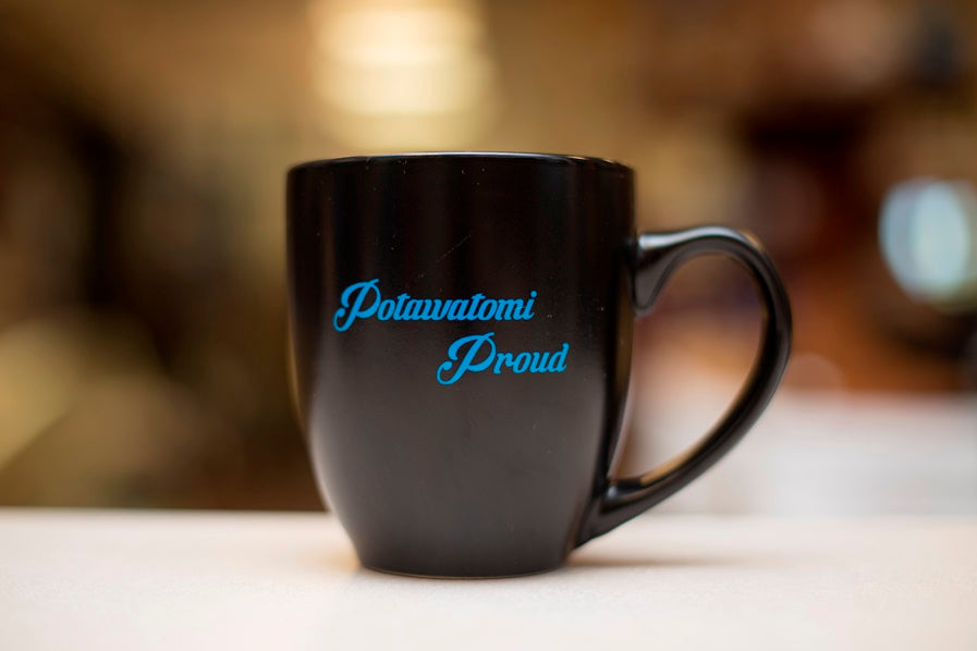 Potawatomi Proud Latte Mug