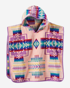 Pendleton Chief Joseph Hooded Towel-Pink