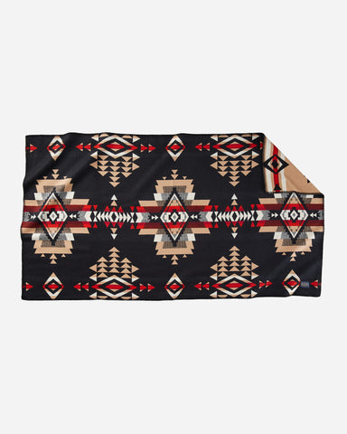 Pendleton ROCK POINT SADDLE BLANKET- BLACK