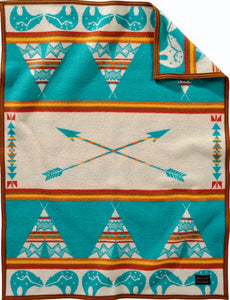 Pendleton Star Guardian-Turquoise Blanket