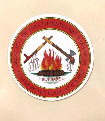 Citizen Potawatomi Nation Magnet