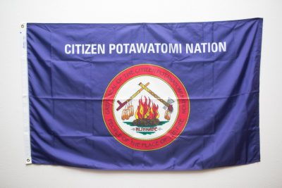 Citizen Potawatomi Nation Flag