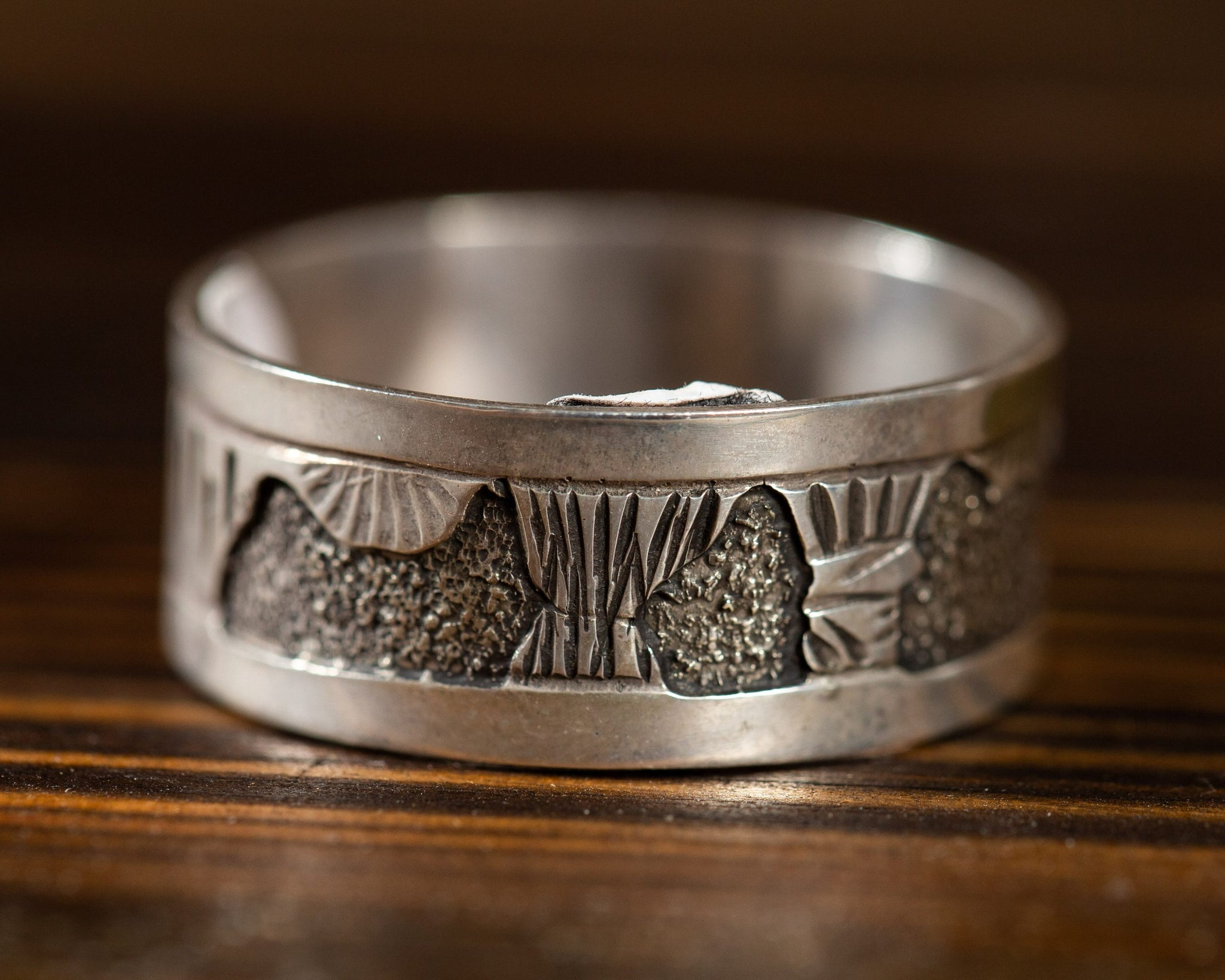 Handcrafted Sterling Silver Ring Band
