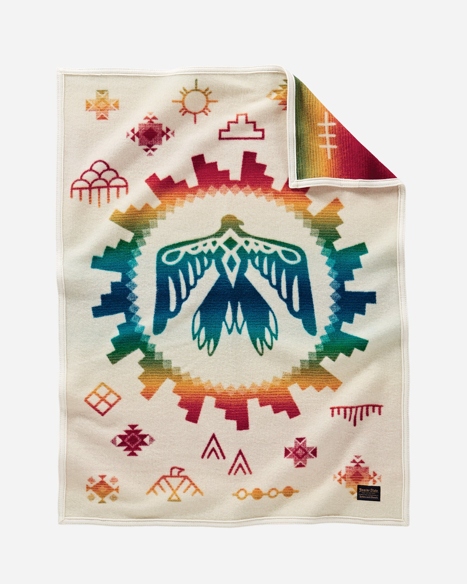 Pendleton Sunrise Eagle Baby Blanket