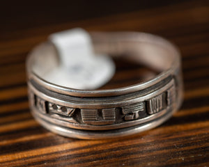 Handcrafted Zuni Ring Band