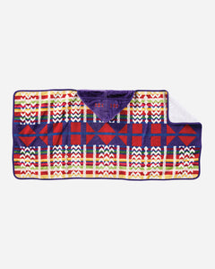 Pendleton Hooded Towel- Purple