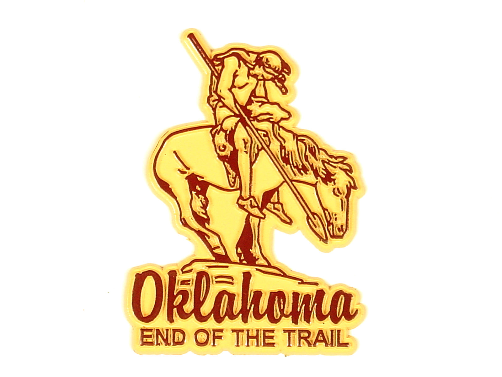 "OK Vintage ""End Of Trail"" Magnet"