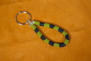 Mini Beaded Keychain