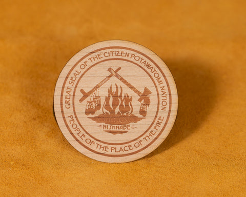 Wood CPN Sticker