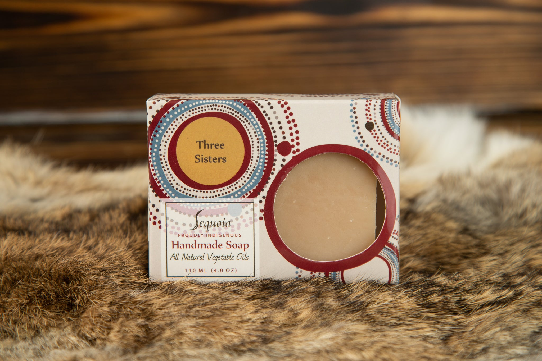 Sequoia Soap- Three Sisters Scent