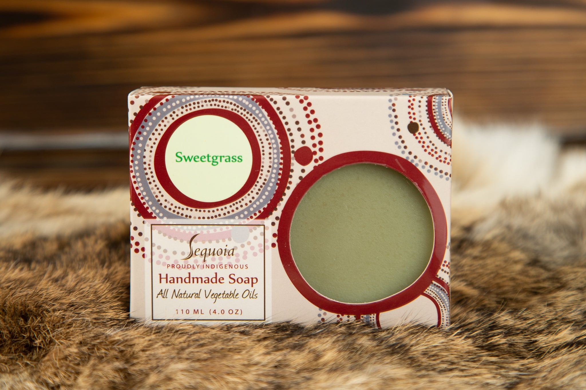 Sequoia Soap-Sweetgrass Scent