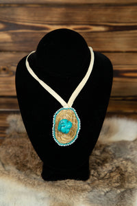 Sweetgrass Necklace