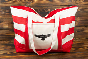 Potawatomi Eagle Cotton Canvas Tote