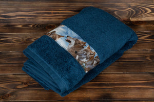 Wolf Design Towel
