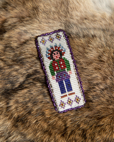 Native Beaded Barrette