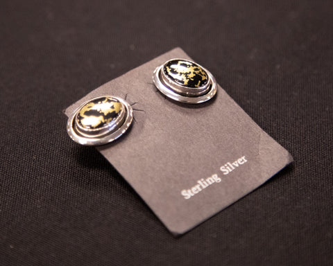 Goldenite Stud Earrings