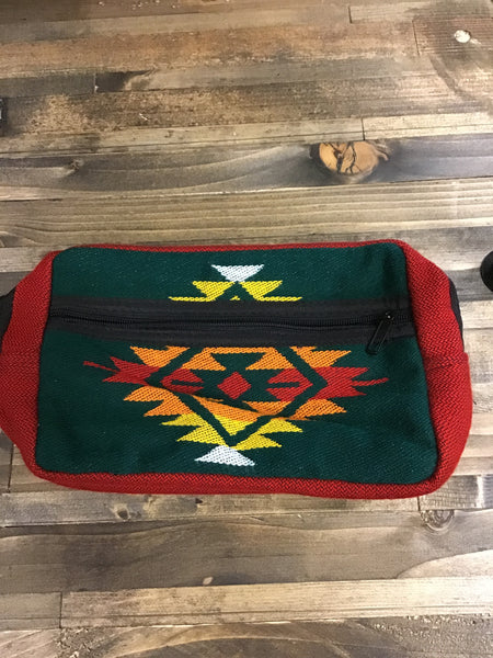 Southwest Patterned Travel Pouches