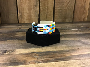 LT Blue Feather Bracelet