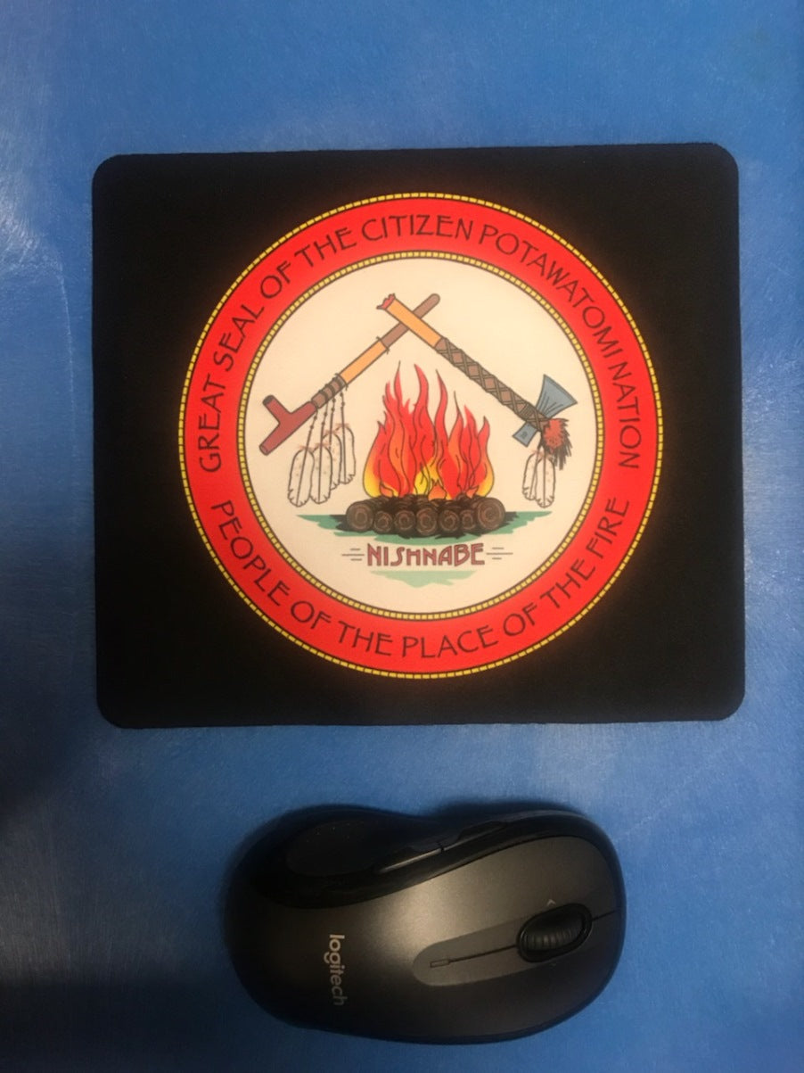 Citizen Potawatomi Nation Mouse Pad