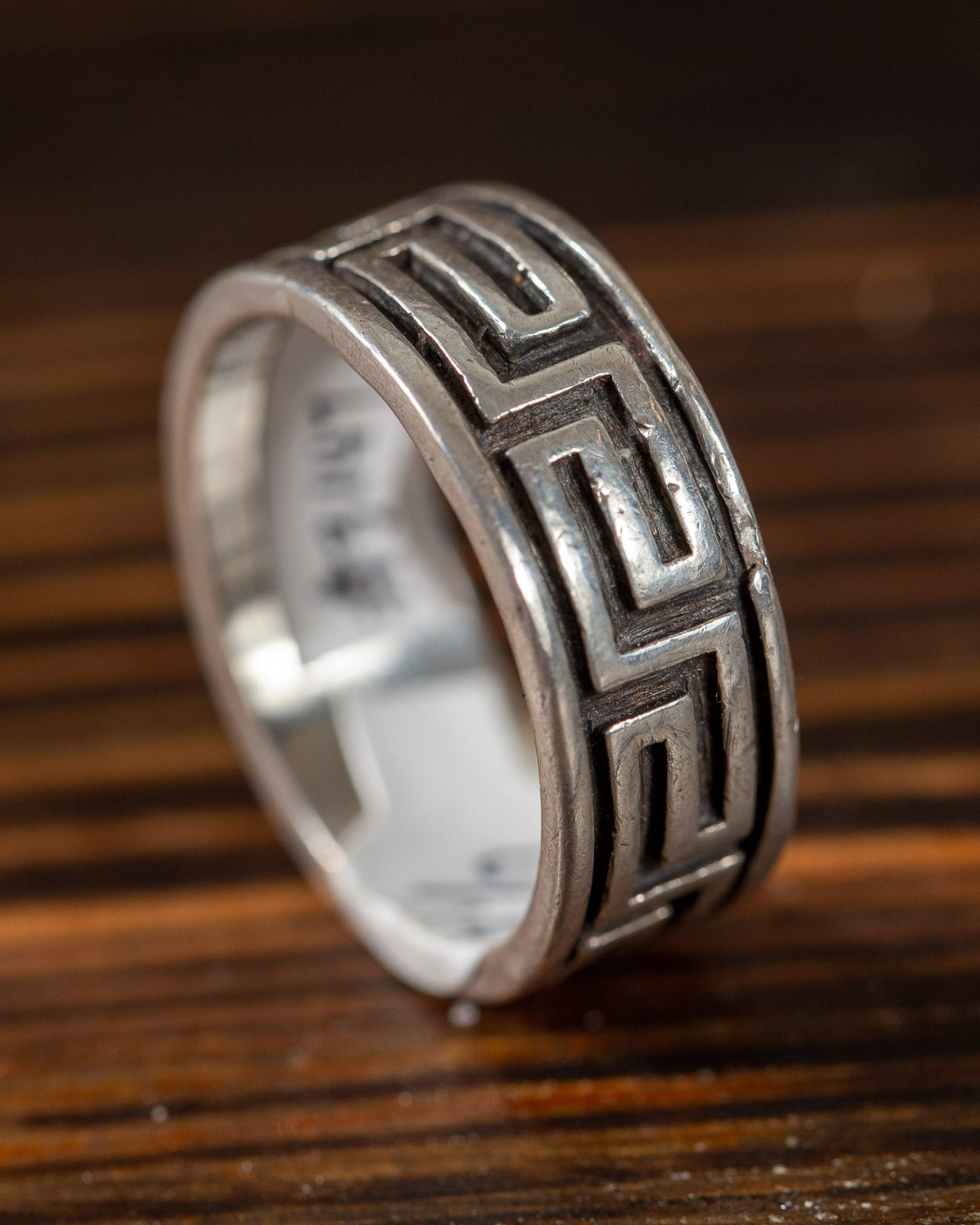 Ring Band with Zuni Design