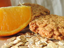 Load image into Gallery viewer, Tangy Orange Oatmeal Cookies