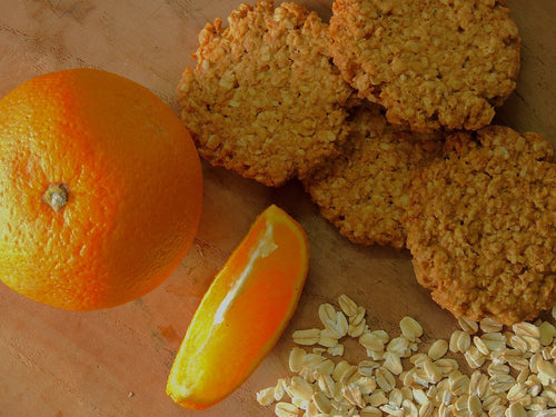 Tangy Orange Oatmeal Cookies
