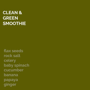 Clean and Green Smoothie