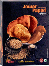 Load image into Gallery viewer, Jowar  papad minis