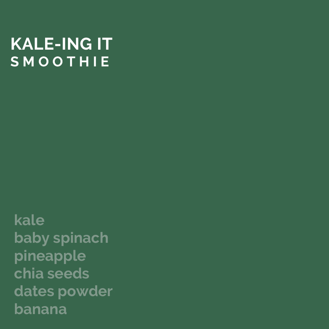 Kale-ing It Smoothie