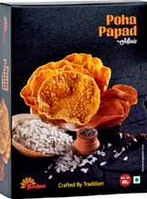 Load image into Gallery viewer, Poha Papad minis