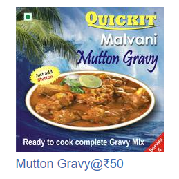 Malvani Mutton Gravy mix