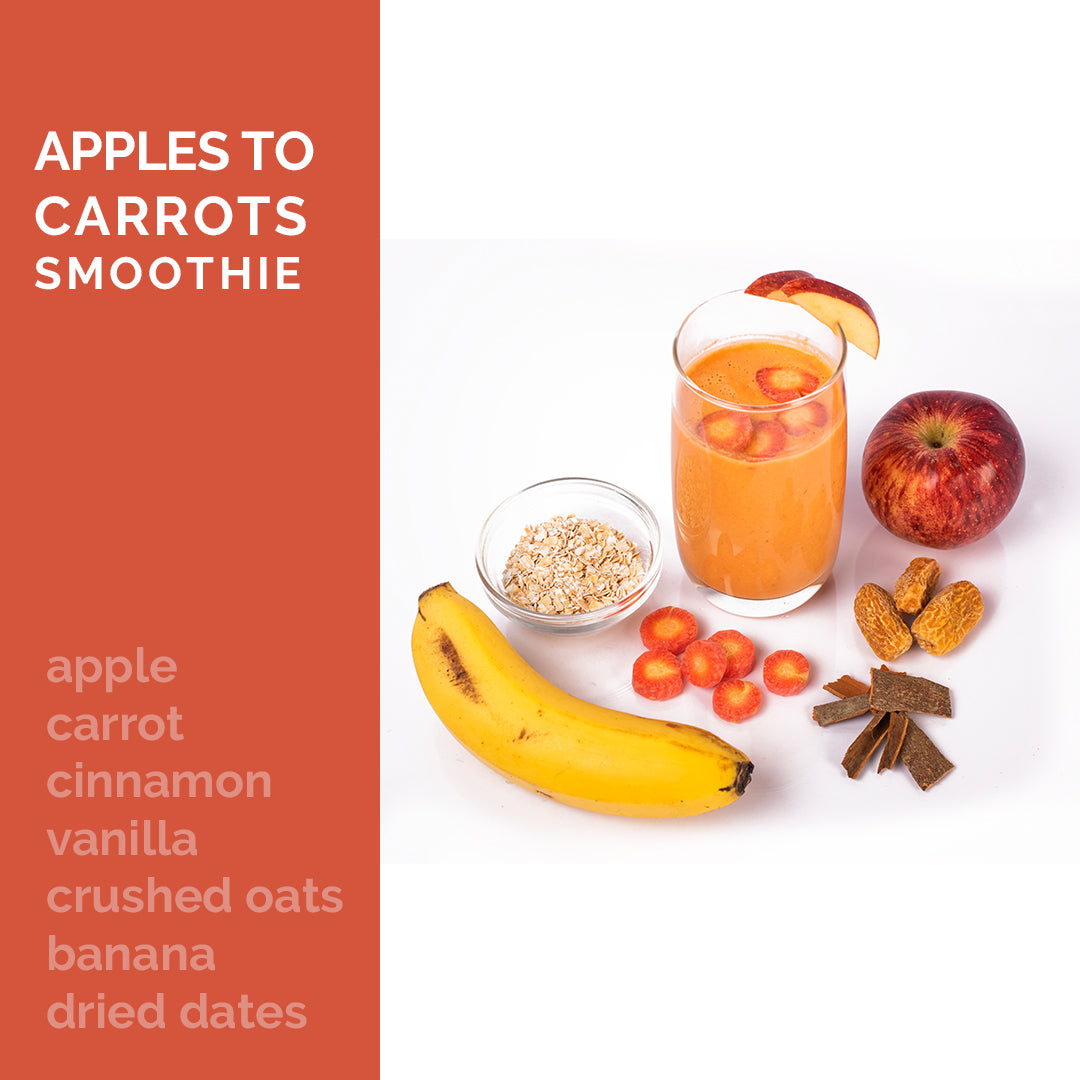 Apples to Carrots Smoothie