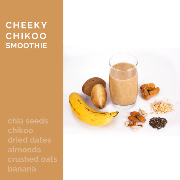 Cheeky Chikoo Smoothie