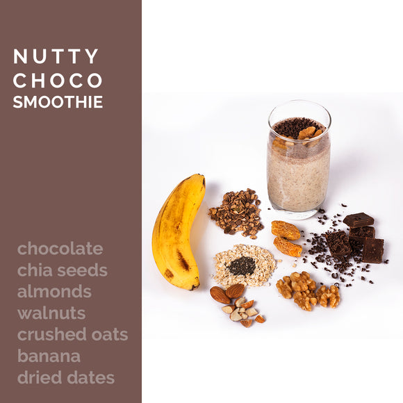 Nutty Choco Smoothie