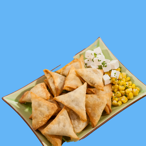 Cheese Corn Samosa - Ready to fry