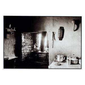 Cedric Nunn  |  Amy Madhlawu Louw's Kitchen. She died in 2003 at the age of 103. Nothing remains of her home