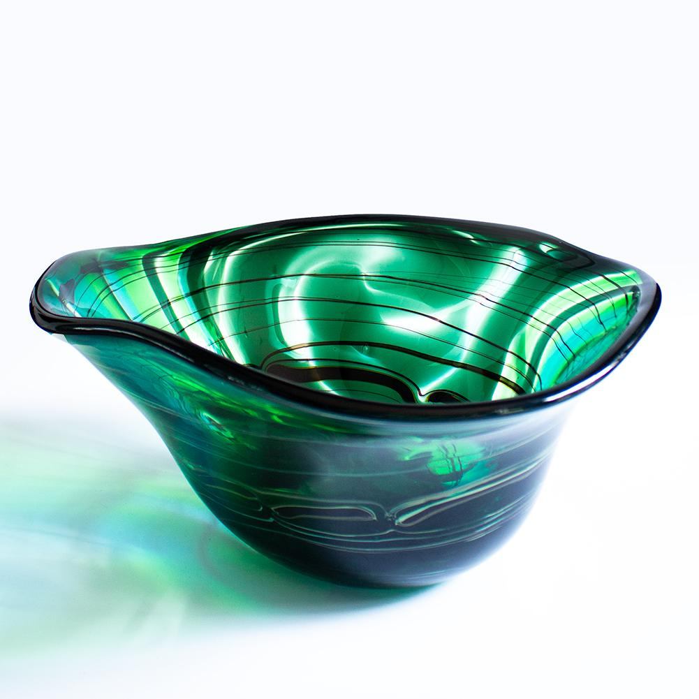 Bowl - Green fan