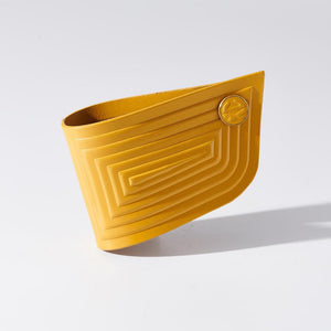 Cuff - Linear - Yellow - Lrg