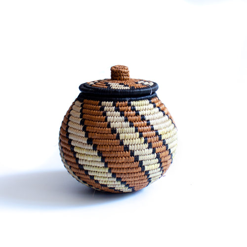 Hlabisa Basket - Jewellery Box S