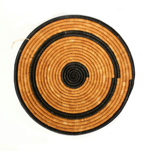 Platter - Orange and Black Small