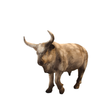 Load image into Gallery viewer, Ceramic Bull - Medium