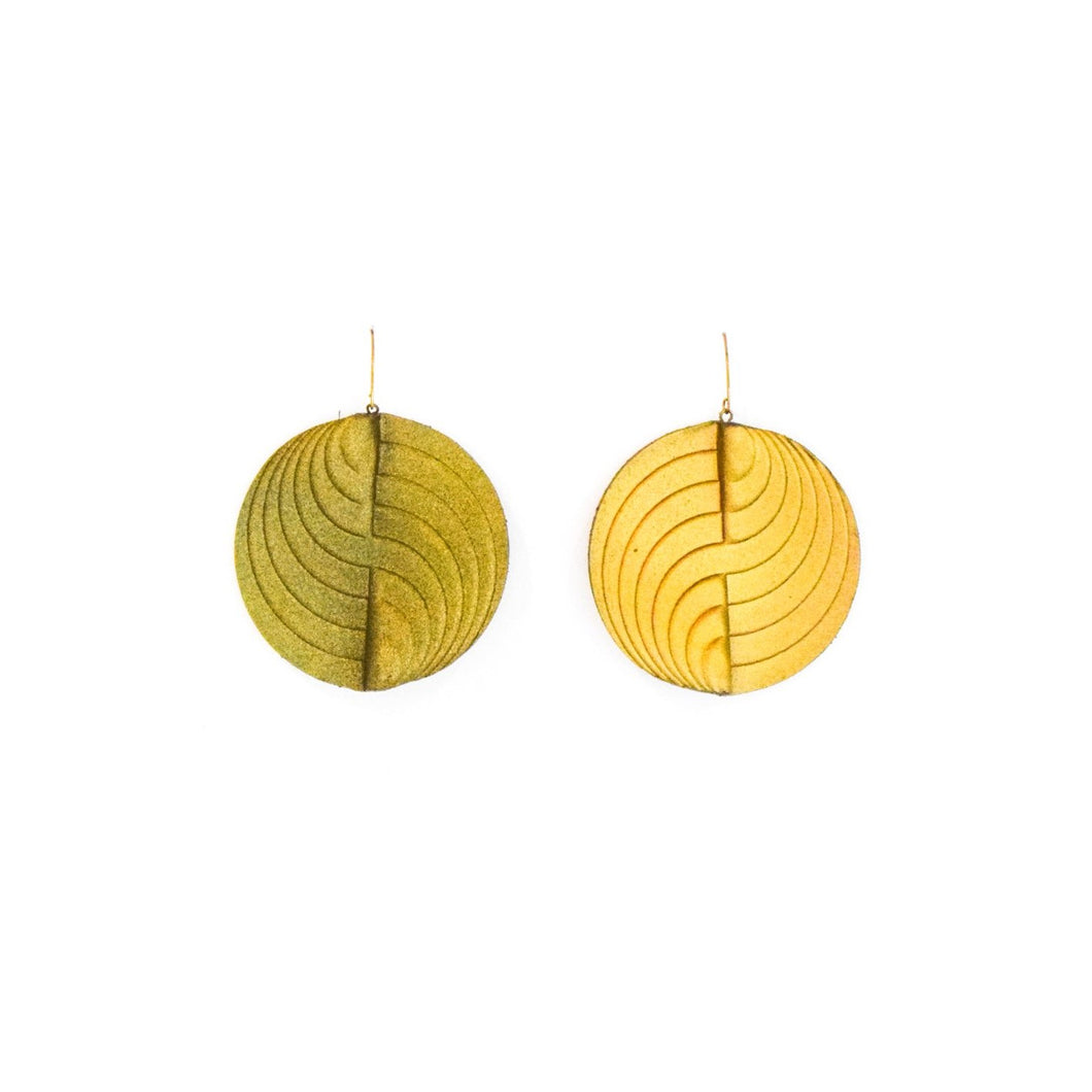 Earrings - Circle - Gold