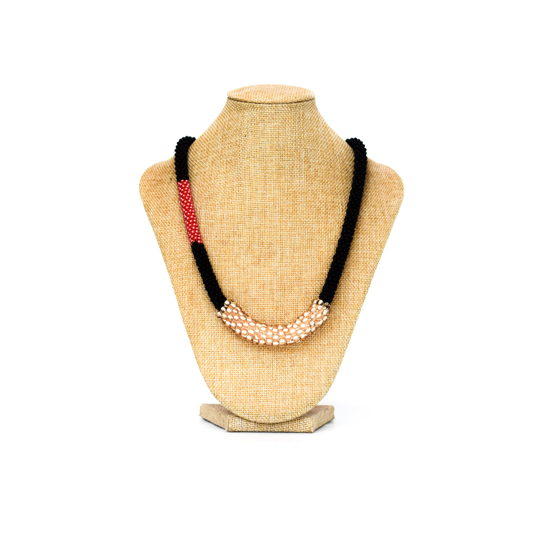 Necklace - Red rope small