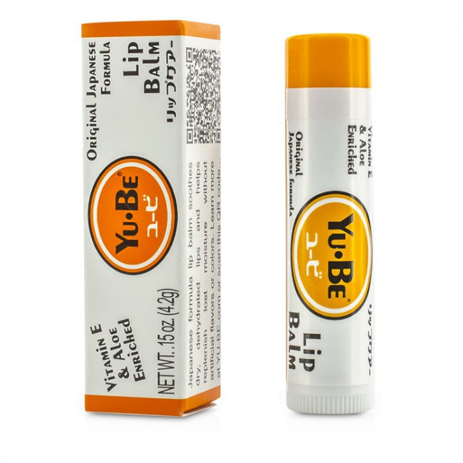 Yu-Be Vitamin E & Aloe Enriched Lip Balm